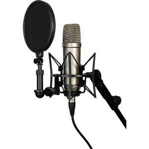 Microfones condensadores