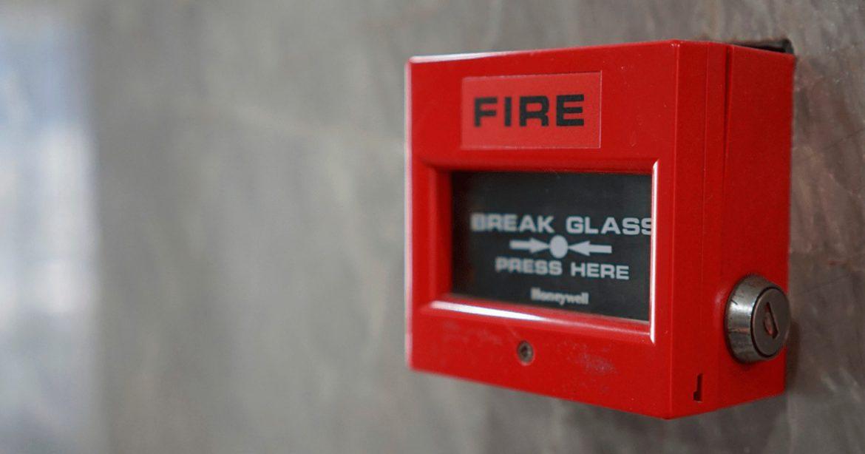 Cabo para alarme de incêndio