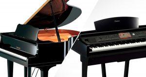 Piano elétrico ou acústico: como escolher?