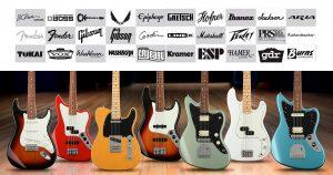 Marcas de guitarra as principais e suas histórias