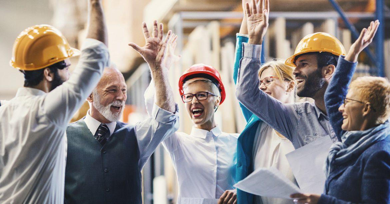 A motivação de equipe ajuda no sucesso da sua indústria