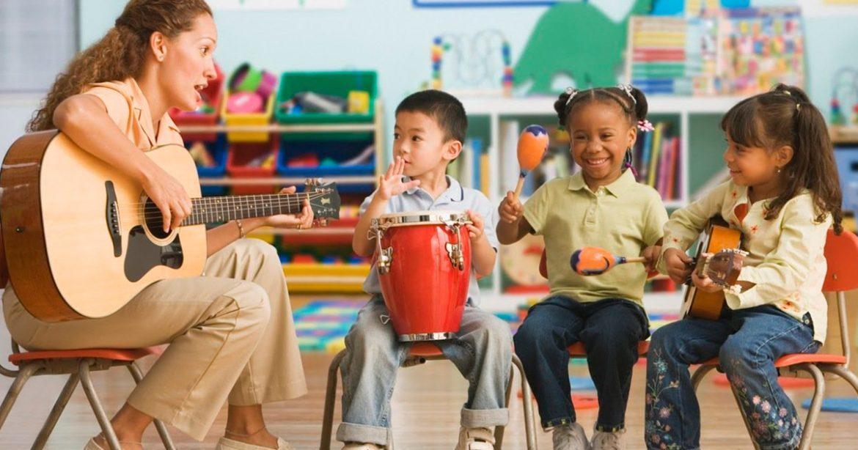 A música na educação infantil ajuda no aprendizado